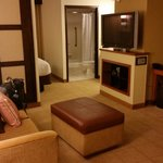 Sitting area in the room