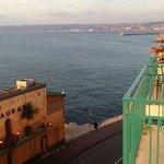 Vu du balcon côté mer