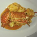 pappardelle pasta with lobster