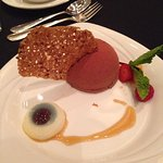 Desert at conference