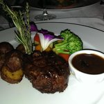 My 6oz Filet Mignon...out of this world
