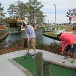 Treven + Brittany Mini-golf