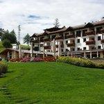 L'albergo Panider Sattel, o Passo Pinei - Settembre 2014