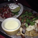 Chicken and beef famous fajitas