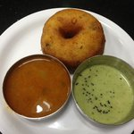 The vada is most amazing.