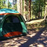 Our site at Sunset Campground, Bryce Canyon, Loop B Site 70