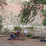 Watchman Campground Loop D Site 20