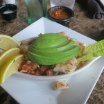 the Ceviche appetizer - delicious!