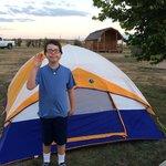 Owen at Cheyenne KOA