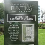 Punting sign