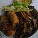 bobun (plat consistant et raffiné)
