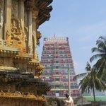 Gopuram of the Sharadambha Temple