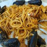 Pasta Marinara over cooked