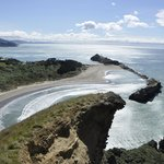 Castlepoint from above