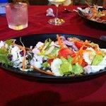 Salade thaï calamar