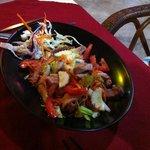 Salade thaï boeuf