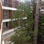 вид с балкона шестого этажа