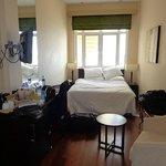 Rectangular bedroom