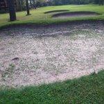 A nice grass/sand bunker!!!