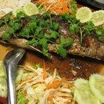 魚料理(スナッパー?)