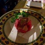 Tartarre di Fassona con tartufo bianco