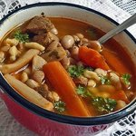 goulash with white beans