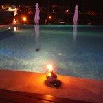 Pool side lamps