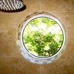 A green shower