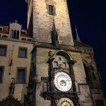 Torre do relógio próximo ao  Hotel Elysee