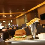 How about a Crispy Burger at The Retreat?