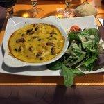 Cassolette de fruit de mers, au curry. En entrée.