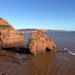 Ladrum Bay near Sidmouth