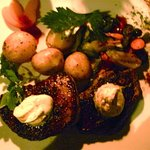 "the juicy, delicious "" Oryx Steak """