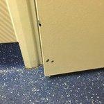 Chipped door