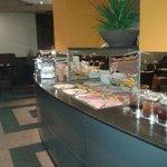 desayuno  buffet excelente