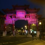 Night time Chinese Arch