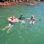 Warm springs swim