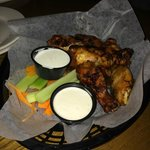 Awesome smoked wings!