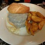 Truffled Cheese Kobe Burger