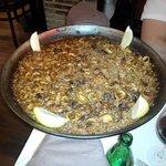 Paella sea food