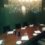 Elegant private dining
