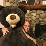 The friendly bear!