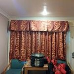 The new curtains