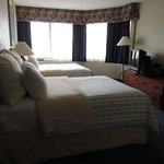 2 double beds onsuite