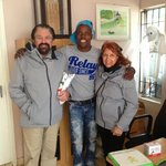 Kliptown director with Rich and Betty