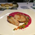 Chicken with Puree