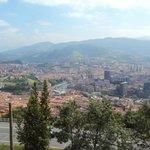 Bilbao desde monte Artxanda