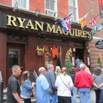 The front of Ryan Maguire's