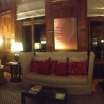 One of the suites at the de Rome