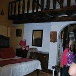 cabaña familia tres camas arriba dos abajo